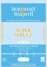 Northern Warmth Super Spruce Pellets